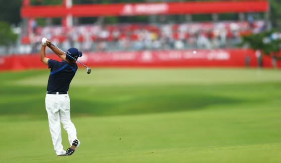 ゴルフ試合の画像